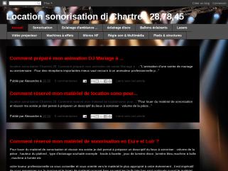 Location sonorisation Chartres 28, 78, 45