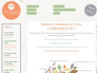 Julie LECUREUIL - Sophrologue Relaxation et Relation d'aide Paris 13 75013 Des outils pour un mieux-être au quotidien Se reconnecter à Soi