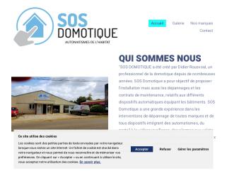 SOS DOMOTIQUE : sécurité, confort et automatisme de l'habitat