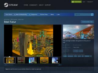 Réel Futur - Jeu Vidéo Steam