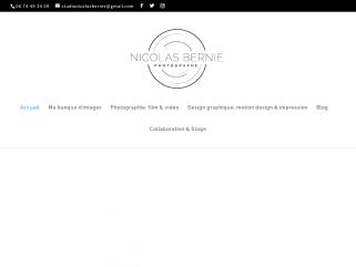 Nicolas Bernié, photographe, graphiste, vidéaste & plasticien.