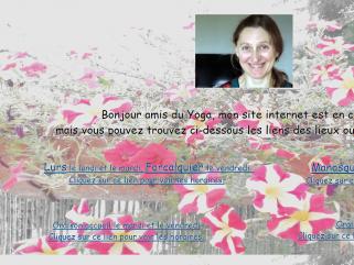 Adresses et horaires cours de Yoga de Sylvie Chantefort