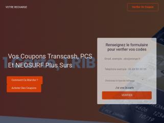VÉRIFIER UNE RECHARGE PCS|TRANSCASH|NEOSURF|TABACVALIDATION.COM