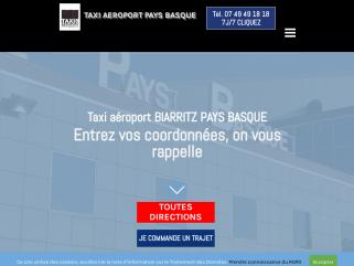 Taxi aéroport Biarritz, Taxis Aéroport Pays Basque