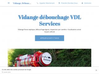 Vidange fosse septique VDL Services Namur