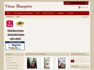 Bouquiniste en ligne, vente de livres d'occasion.