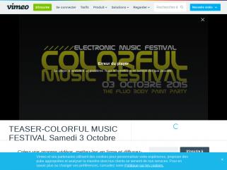 TEASER OFFICIEL : COLORFUL MUSIC FESTIVAL©