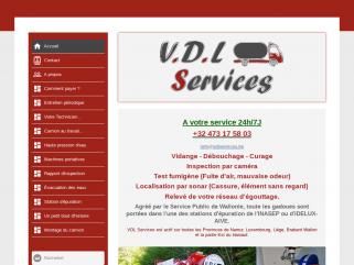 Vidange fosse septique, débouchage canalisation VDL Services
