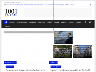 Actualités en direct et info en continu  - 1001infos.net