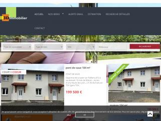 3D Immobilier Siège social :  130 chemin des Anes  74120 Megève.  Etablissement principal : 99, impasse du Vieux Moulin  39140 Villevieux.  Tél: 03 84 44 91 31