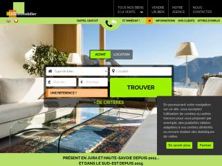3D Immobilier, une nouvelle image de l'immobilier! Visite virtuelle pour tous nos biens