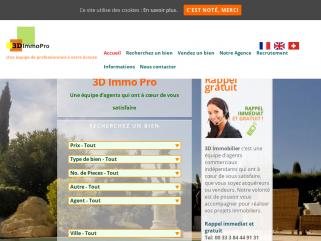 La société 3D Immobilier est une agence immobilière, spécialisée dans la transaction avec visite virtuelle