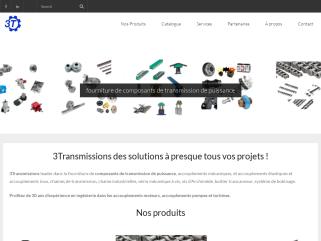 3Transmission fabricant d'engrenage, engrenage conique, crémaillère,  crémaillère inox, vérin à vis trapézoidale, vérin à roue et vis sans fin, RATH accouplement flexible mécanique.