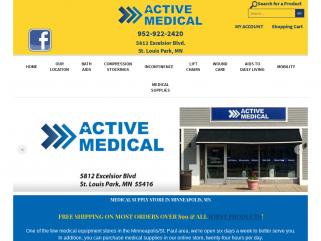 Active Medical, St. Louis Park, MN, Service, Selection et Satisfaction