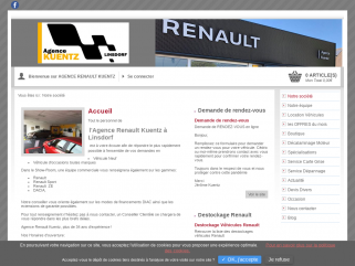 Agence Renault Kuentz à Linsdorf