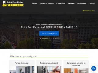 Point Fort Fichet Am Serrurerie Paris 10