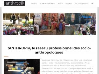 Réseau anthropologue sociologue ethnologue professionnel