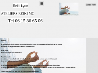 Reiki Lyon - Ateliers Reiki Mc  Info