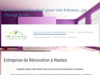 Entreprise de rénovation salle de bains, Devis salle de bains, Entreprise de rénovation immobilière sur Nantes et sa région pour professionnels et particuliers