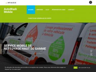 AutoWash Mobile - Lavage de véhicule à domicile - Nettoyage autos et mobil-homes.