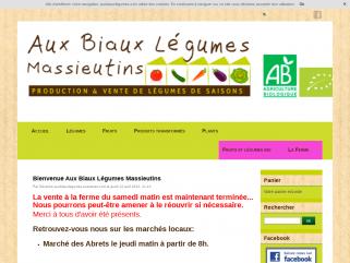Aux biaux legumes, vente de légumes bio