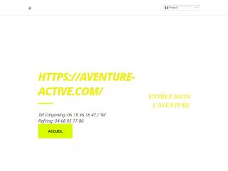 Le canyoning à Ceret Pyrénées Orientales /Aventure Active