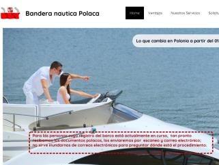 Bandera Polaca: El sitio oficial para abanderar su barco con bandera Polaca.