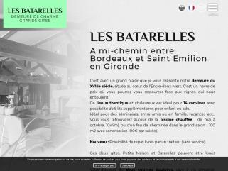 Gîtes - Chambres d'hôtes Gironde de charmes, Saint-émilion, Sauternes, 33. - Batarelles