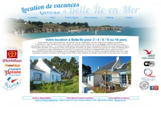 Belle Ile en Mer, charmante maison de vacances tout confort à louer sur l'île.