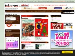 Billetterie Officielle | BILLETNET®