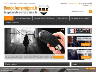 Bombe-lacrymogene.fr : le spécialiste en auto défense et sécurité; de la personne