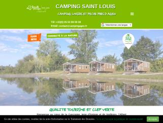 Camping lot et Garonne lac , , Camping loisirs et pêche près d'Agen