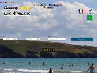 Camping finistère (29) bretagne Les Mimosas Telgruc Crozon