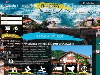 Camping Cote Basque - Camping Suhiberry **** dans le Pays Basque à Urrugne