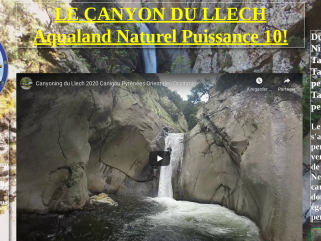 Le Canyon des Gorges du Llech Pyrénées Orientales