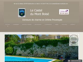 Chambres d'hôtes et restaurant à Montélimar du Castel Montboisé, séjour romantique et tourisme.