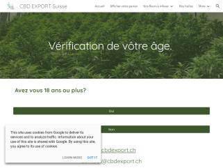 CBD Export Suisse