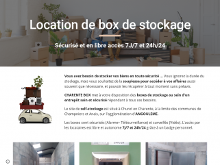 CHARENTE BOX