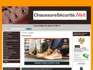 ChaussureSécurité.Net - Chaussures de sécurité et écologiques en Bretagne