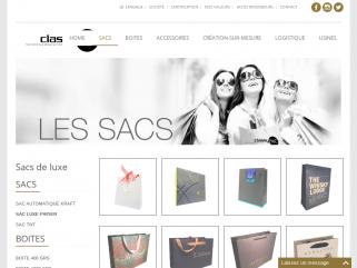 Fabricant de sacs papier de luxe - Classypac, packaging de luxe