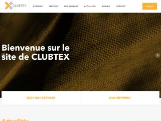 Association pour la promotion des entreprises du textile technique : CLUBTEX