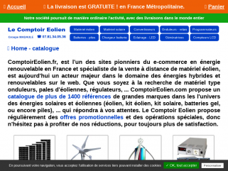 Le Comptoir Eolien - Groupe MADAULE