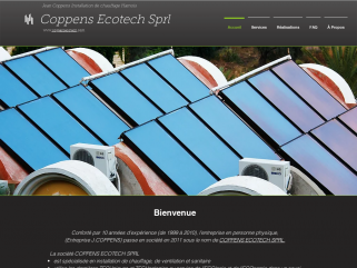 Jean Coppens Installation de chauffage Hamois Coppens Ecotech Sprl