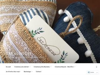 Créalinfini: Création d'objets et accessoires fait main,  made in France