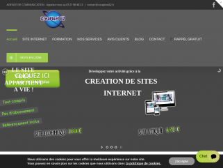 Agence de communication basée à Arras spécialisée dans la création de sites internet et l'impression de tous supports de communication.