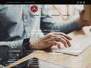 Creat'if web - création de sites Internet.