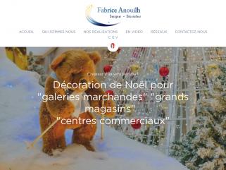 Décoration de Noël pour centres commerciaux - Anouilh Décoration