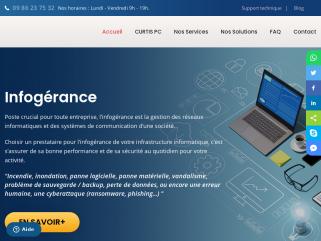 Curtis PC | Maintenance Informatique pour PME.
