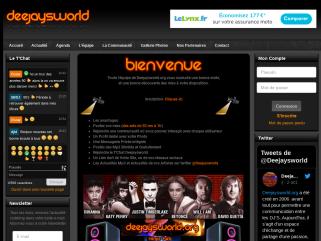Deejaysworld le site de tous les DJ'S