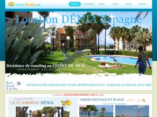 Location Dénia - Location Espagne à Denia face mer
